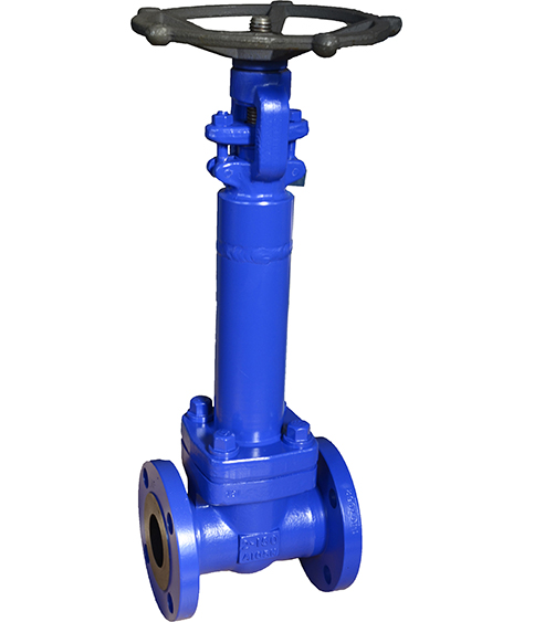 Forged steel bellows valve